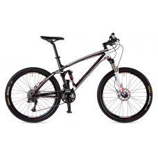 """Велосипед AUTHOR  A-Ray 2.0 26"""", Цвет-Карбон / Белый/ Красный, Рама 19"""""""