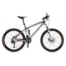 """Велосипед Era  3.0 26"""", Цвет-Карбон / Белый/ Бронзовый, Рама 17"""""""
