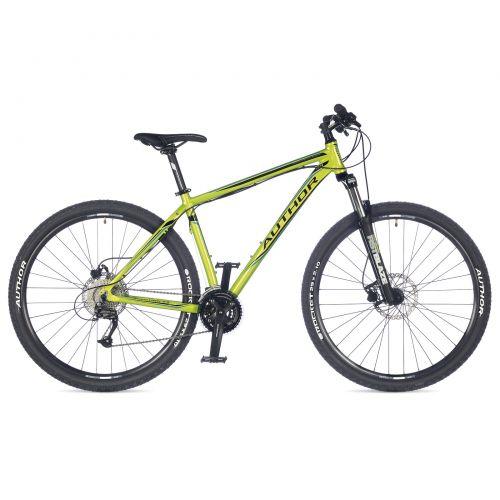"""Велосипед AUTHOR (2017) Solution 29"""", цвет-зелёный (синий) // чёрный , рама 19"""""""