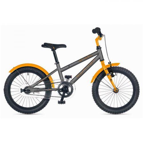 """Велосипед AUTHOR (2018) Orbit II 16"""", рама 9"""", цвет-серый // оранжевый ( с царапинами)"""