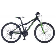 """Велосипед AUTHOR (2018) A-Matrix 24"""", рама 12,5"""", цвет-чёрный (неоново зеленый)// неоново зеленый"""