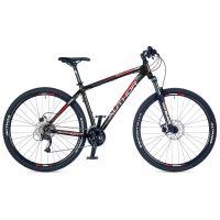 """Велосипед AUTHOR (2018) Solution 29"""", рама 19"""", цвет-черный (красный-серый) // черный"""