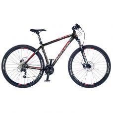"""Велосипед AUTHOR (2018) Solution 29"""", колір-чорний (червоний-сірий) // чорний, рама 21"""""""