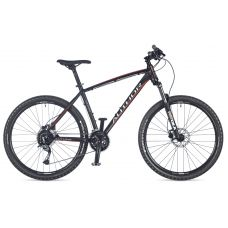"""Велосипед AUTHOR (2018) Pegas 27.5"""", рама 19"""", цвет-чёрный (оранжевый) // чёрный"""