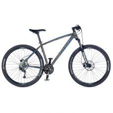"""Велосипед AUTHOR (2018) Pegas 29"""", колір-сірий (синій) // чорний, рама 21"""""""