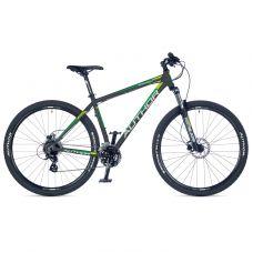 """Велосипед AUTHOR (2018) Rival 29"""", рама 19"""", цвет-чёрный (зелёно желтый) // чёрный"""