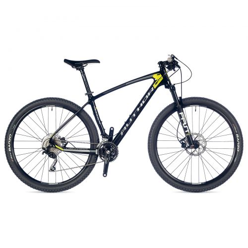 """Велосипед AUTHOR (2018) Modus 29"""", цвет-карбоновый (желтый) // чёрный , рама 19"""""""