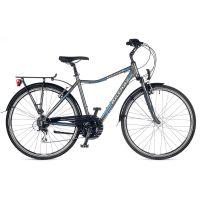 "Велосипед AUTHOR (2018) Triumph 28"", цвет-серый (голубой) // серый, рама 20"""