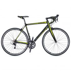 """Велосипед AUTHOR (2018) Aura 33 28"""", цвет-черный (желтый) // черный, рама 52 cm"""