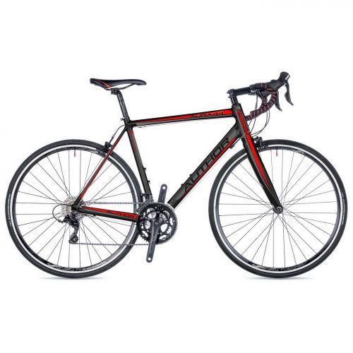 """Велосипед AUTHOR (2018) Aura 44 28"""", цвет-чёрный (красный) // черный, рама 54 cm"""