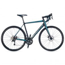 """Велосипед AURA XR 28"""", колір-чорний (синій) // чорний, рама 52 cm"""