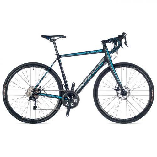 """Велосипед AUTHOR (2018) AURA XR 28"""", цвет-черный (синий) // черный, рама 52 cm"""