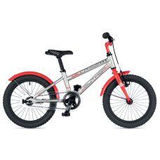 """Акция! Велосипед AUTHOR (2019) Stylo 16"""" II, рама 9, цвет-серебристый // красный"""