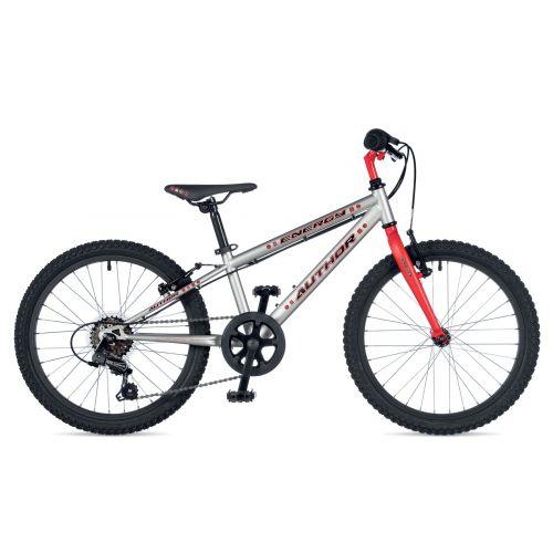 """Велосипед AUTHOR (2019) Energy 20"""", рама 10"""", цвет-серебристый // красный"""