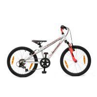 """Велосипед AUTHOR (2019) Energy sx 20"""", рама 10"""", цвет-серебристый // красный"""