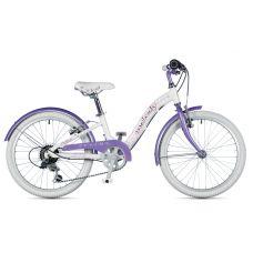 """Велосипед AUTHOR (2019) Melody 20"""", рама 10"""", колір-білий // фіолетовий"""
