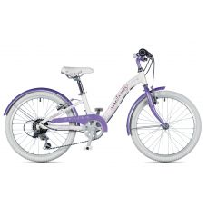 "Велосипед AUTHOR (2019) Melody 20"", рама 10"", цвет-цвет-белый // фиолетовый"