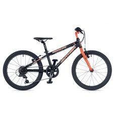 """Велосипед AUTHOR (2019) Cosmic 20"""", рама 10"""", цвет-чёрный // оранжевый"""