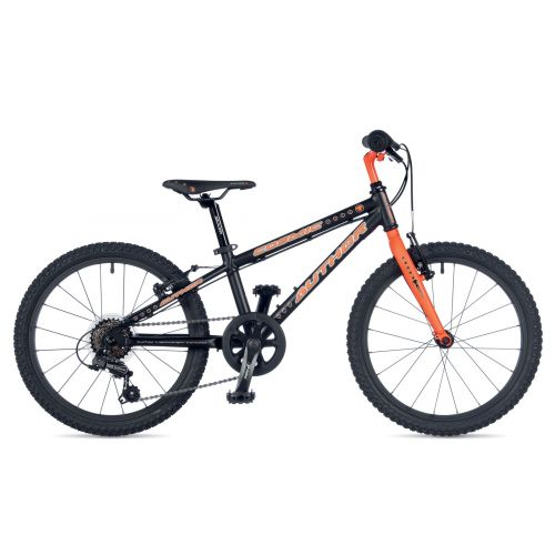 "Велосипед AUTHOR (2019) Cosmic 20"", рама 10"", колір-чорний // помаранчевий"