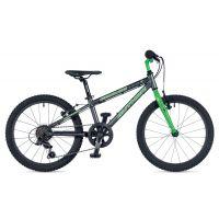 """Велосипед AUTHOR (2019) Cosmic 20"""", рама 10"""", цвет-графитовый // зелёный"""