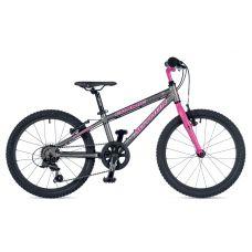 """Велосипед AUTHOR (2019) Cosmic 20"""", рама 10"""", колір-сірий // рожевий"""