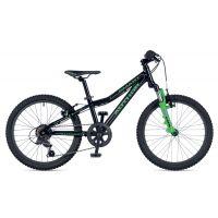 """Велосипед AUTHOR (2019) Smart 20"""",  рама 10"""", цвет-черый // зелёный"""
