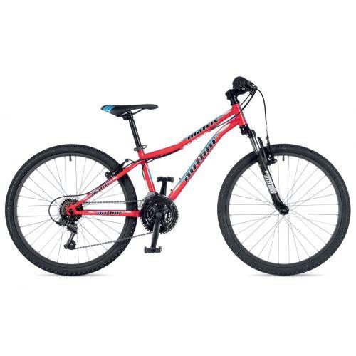 """Велосипед AUTHOR (2019) Matrix 24"""",  рама 12,5"""", цвет-красный (голубой) // черный"""