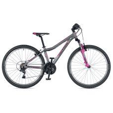 """Велосипед AUTHOR (2019) A-Matrix 26"""", рама 13,5"""", цвет-серый (розовый) // розовый"""
