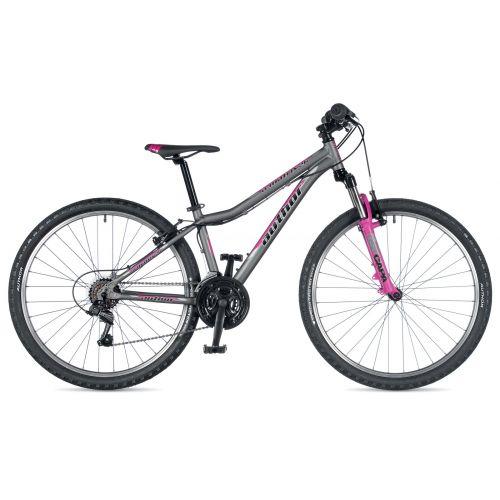 """Велосипед AUTHOR (2019) A-Matrix 26"""", рама 13,5"""", колір-сірий (рожевий) // рожевий"""