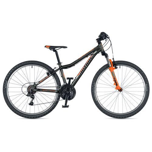 """Велосипед AUTHOR (2019) A-Matrix 26"""", рама 13,5"""", цвет-чёрный (неоново оранжевый)// неоново оранжевы"""