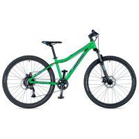 """Велосипед AUTHOR (2019) A-Matrix 26"""" D II, рама 13,5"""", цвет-зелёный (голубой) // черный"""