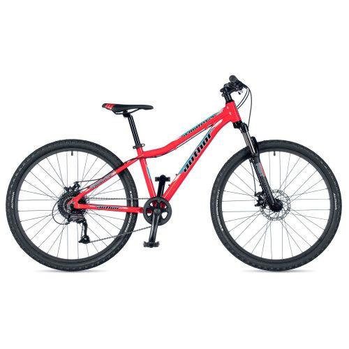 """Велосипед AUTHOR (2019) A-Matrix 26"""" D II, рама 13,5"""", цвет-красный (голубой) // черный"""