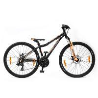 """Велосипед AUTHOR (2019) A-Matrix 26"""" D II, рама 13,5"""", цвет-чёрный (неоново оранжевый)// неоново ора"""