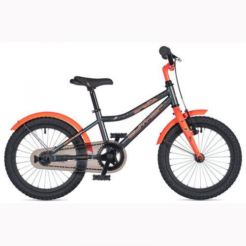 """Велосипед AUTHOR (2020) Orbit 16"""", рама 9"""", цвет-серый // оранжевый"""