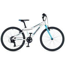 """Велосипед AUTHOR (2019) Ultima 24"""", рама 12,5"""", цвет-белый (голубой) // голубой"""