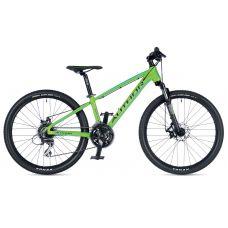 """Велосипед AUTHOR (2019) Mirage 24"""", рама 12,5"""", цвет-зелёный (голубой) // черный"""