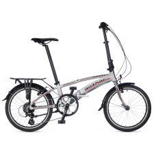 Велосипед AUTHOR (2020) Simplex рама M, цвет-серебристый