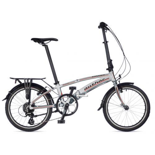 Велосипед AUTHOR (2019) Simplex рама M, цвет-серебристый
