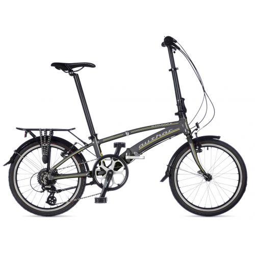 Велосипед AUTHOR (2019) Simplex рама M, колір-сірий