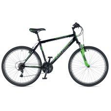 """Велосипед AUTHOR (2019) Trophy 26"""", рама 19"""", цвет-чёрный (зелёный) // зелёный"""
