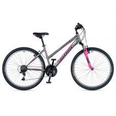 "Велосипед AUTHOR (2019) Vectra 26"", рама 18"", цвет-серый (розовый)  // розовый"