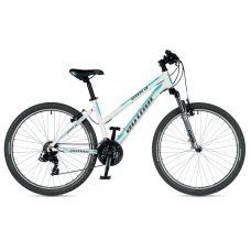 """Велосипед AUTHOR (2019) Unica 26"""", рама 18"""", цвет-белый (ментолово зелёный) // серебристый"""