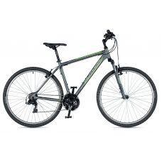 """Велосипед AUTHOR (2019) Compact 29"""", рама 18"""", цвет-серый (зелёный) // серый"""