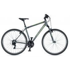 """Велосипед AUTHOR (2019) Horizon 29"""", рама 20"""", цвет-серый (зелёный) // серый"""