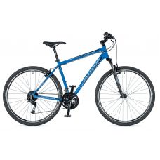 """Велосипед AUTHOR (2019) Classic 29"""", рама 18"""", цвет-голубой (черный) // черный"""