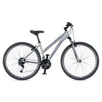 """Велосипед AUTHOR (2019) Integra 29"""", рама 19"""", цвет-серебристый (лиловый) // серебристый"""