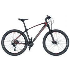 """Велосипед AUTHOR (2019) Modus 27.5"""", рама 19"""", колір-карбон/сірий/червоний// чорний"""