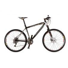 """Велосипед AUTHOR  Magnum 26"""", Цвет-Карбон / Белый/ Серебристый, Рама 19"""""""