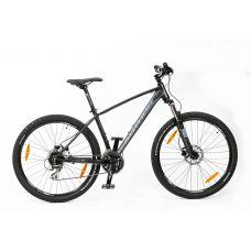 """Велосипед AUTHOR (2019) Impulse II 27.5"""", рама 17"""", цвет-черный (красный) // чёрный"""