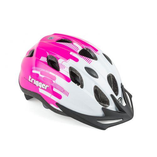 Шлем Trigger Inmold 52-56cm (173 white/pink)